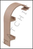 T1774 QUAKER QP-2041T FRENCH CURVE NOSE CAP - TAN (100/CASE)