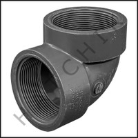 """U6430 ELBOW (90) SCHED 80 F X F 3"""" FPT X FPT 808-030"""