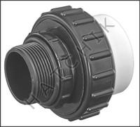 "U7574 UNION CPVC MPT X F-SLIP 1-1/2""x 2"" W/O-RING"