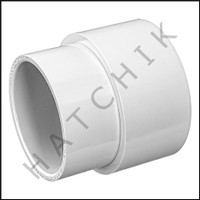 """U8733 PVC FITTING EXTENDER 2"""" X SOCKET"""