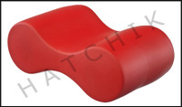 X4098R SPONGEX PULL BUOY JUNIOR RED