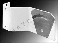 Y2223 DUNN-RITE SSH126 BENT STRUTS/ LEFT (SQUARE HOLES) SPLASH&SLM