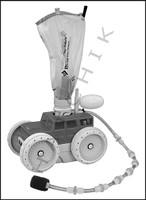 E4104 LETRO PLATINUM TRUCK SERIES G/G CLEANER HEAD/HOSE  GRAY/GRAY