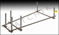 G3078 JIG ONLY 1/2-3/4-1 METER STAND STEEL DIVING STAND