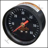 H2105 JANDY R0359600 GAUGE FOR CL,DEL, FILTERS