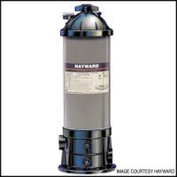 H5001 HAYWARD C550-1575-XES FILTER SYSTEM W/1 HP & BASE