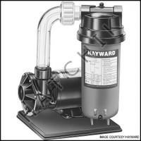 H6044 HAYWARD C2251540LSS FILTER SYS 25 SQ FT WITH PUMP AND BASE