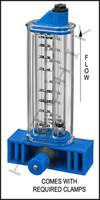 """H7032 FLOWMETER- ROLACHEM 1-1/2"""" VERT. VERTICAL MOUNT 20-100 GPM"""