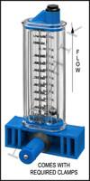 """H7047 FLOWMETER- ROLACHEM 3"""" VERT. VERTICAL MOUNT 100-320 GPM"""