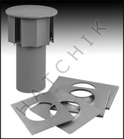 J1083 LAARS D-006 VENT CAP 175 FOR ALL GAS HEATERS
