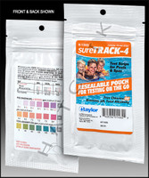 B1062 TAYLOR sureTRACK-4 WAY TEST STRIPS 10ct FOIL PK (CL/BR/PH/TA) K-1305