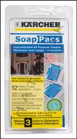 K1068 KARCHER ALL PURPOSE SOAP PAC 12 PER PACK      (6 PACS PER CASE)