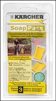 K1069 KARCHER DECK & PATIO  SOAP PAC 12 PER PACK      (6 PACS PER CASE)