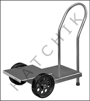 """K1082 TIERED PUMP CART AS USED IN SCAMP SYSTEM""""STAINLESS STEEL"""