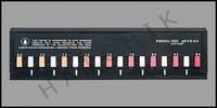 B1189 TAYLOR #9067 Ph SLIDE 6.8 -8.4 (PHENAL RED)