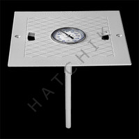 B1315 THERMOMETER L3 W/HAYWARD SQUARE LID SQUARE LID