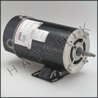 K5035C MOTOR - THRU BOLT 1 HP LOW RUN MAGNETEK 2-SPEED  BN38  115V