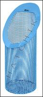 K7181 BASKET - #B-181 BLUE COATED BLUE COATED