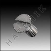L1015 JACUZZI 14-4328-01-R OVAL HD. 8-32 SCREWS (2 EACH)