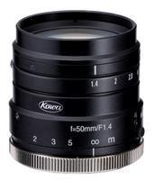 "LM50HC-SW, 50.0mm, 1"" Format, SWIR, Megapixel Fixed Lens, C-mount, F/1.4"