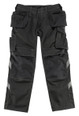 Mascot Bremen Tool Pocket Trousers In Black