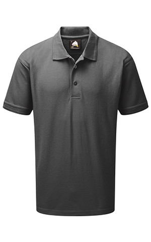 220gsm Great Value Polo Shirt Graphite Grey