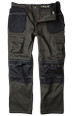 A best selling, great value work trouser in Grey/Black