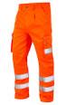 Great Quality Polycotton Hi Viz Cargo Trousers - Orange