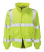 Hi Viz Bomber Jacket, An Everyday Essential - Can be Heatsealed to Enhance your Company Image