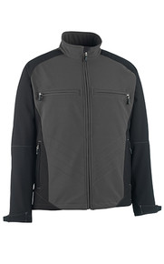 Dresden Sofshell Jacket In Anthracite/Black