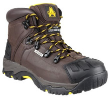 Amblers FS39 Waterproof Safety Boot - Brown