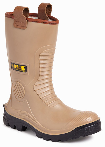 Apache Waterproof Lined PVCu Rigger Boots