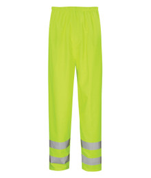 Hydraflex Hi Viz Waterproof & Breathable Overtrousers - Yellow