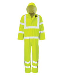 Hydraflex Hi Viz Breathable Coveralls - Yellow