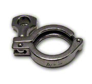 "TRI-CLOVER 304 STAINLESS CLAMP 2.5"" TC STYLE"