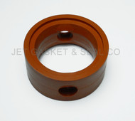 """Butterfly Valve Seat 1-1/2"""" Silicone Compatible with GW Kent Econo Donjoy 1.5"""