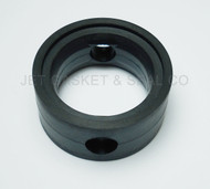 "Pub Brewing (Black Handle) Butterfly Valve Seat 1-1/2"" Black EPDM"