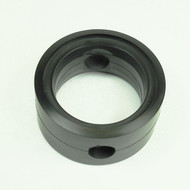 """Butterfly Valve Seat 1-1/2"""" DN32 Black EPDM Compatible with Tassalini Old Style w/Flats"""