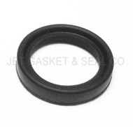 "3/4"" Black Buna Tri-Clamp Gasket Box of 25"