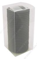 "4"" Black Viton Tri-Clamp Gasket Box of 25"