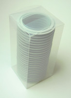 "2.5"" Grey EPDM Tri-Clamp Gasket Box of 25"