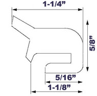 """24"""" Grey EPDM Manway Gasket Compatible with Alfa Laval G&H"""