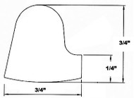 "15.5"" White Buna Manway Gasket Comptible with Zorzini G/EL"