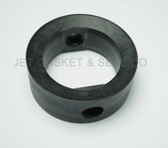 "Butterfly Valve Seat 2"" Black EPDM Compatible with Candigra-Inoxpa"