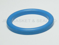 "DIN 11851 DN10 Style Gasket 1/2"" Blue Buna"