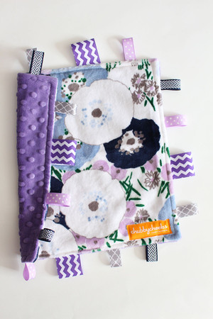 Bluebell Blossoms small tag blanket