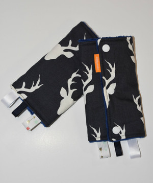 Twilight Buck baby carrier drool pads