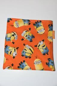 Orange Minion Snack Bag