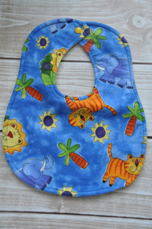 Jungle Theme classic bib