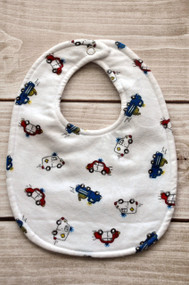 Emergency Vehicles size small classic bib